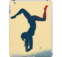 Yoga Girl  iPad Case/Skin