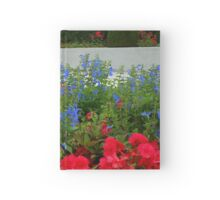 Flower Bed in front of Preston Temple Hardcover Journal