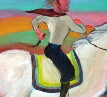 Gaucho a caballo 2 por Diego Manuel Sticker