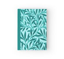 William Morris Willow, Turquoise and Aqua Hardcover Journal