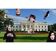 Youtuber white house mashup Photographic Print