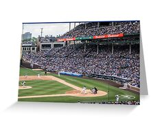 Cubs Baseball Greeting Card