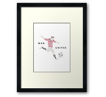 Man United Gift - Top Scorers 2013 Framed Print