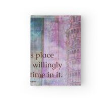 Shakespeare humorous whimsical  quote whimsical  Hardcover Journal