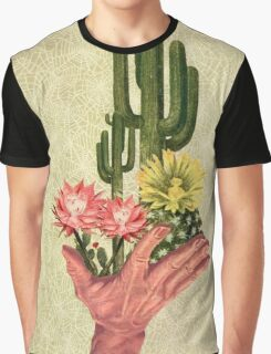Cactus Handup Graphic T-Shirt