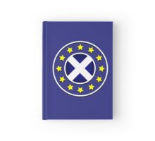 Scottish EU Badge Design 3 Hardcover Journal