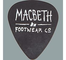 Macbeth Picks Photographic Print