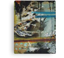 Cycle Mixed Media Canvas Print