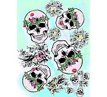Pretty tough skulls Photographic Print