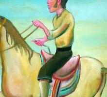 Gaucho jinete  4 por Diego Manuel Sticker