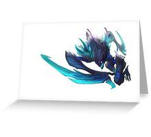 Death Blossom Kha'Zix - League of Legends Greeting Card
