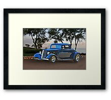 1934 Ford '3-Window' Coupe Framed Print