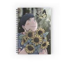 Flower Phil Spiral Notebook