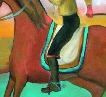 Gaucho a caballo por Diego Manuel Sticker