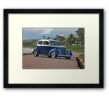 197 Ford Tudor Sedan Framed Print