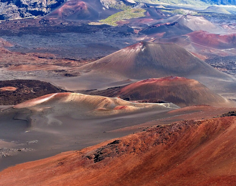 Haleakala Crater, Hawaii by Linda Sparks