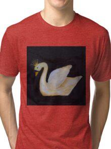 Black Swan Swan Princess Tri-blend T-Shirt