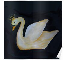 Black Swan Swan Princess Poster