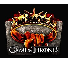 GAMES OF TRHONES Photographic Print