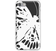 Moth on Grey iPhone Case/Skin