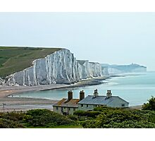 Seven Sisters Cliffs, East Sussex Photographic Print