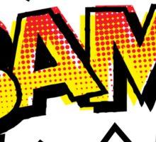 BAM! Comic Onomatopoeia Sticker
