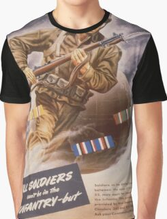 Vintage poster - U.S. Infantry Graphic T-Shirt