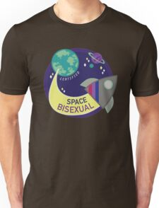 Certified Space Bisexual Unisex T-Shirt