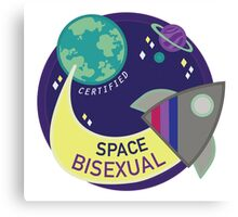 Certified Space Bisexual Canvas Print