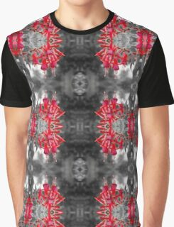 Fuchsia Coloursplash Patterns Graphic T-Shirt