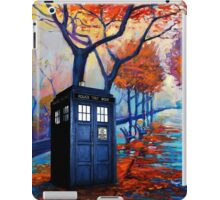 Tardis Autumn Alley iPad Case/Skin