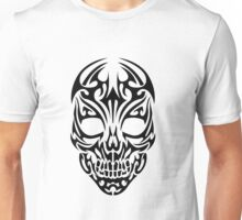 Tribal Skull Design Unisex T-Shirt