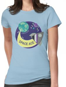 Certified Space Ace Womens Fitted T-Shirt