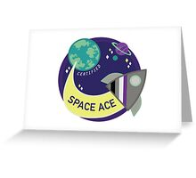 Certified Space Ace Greeting Card