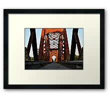 Brookshire Rail Road Bridge II Framed Print