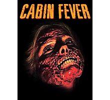 Cabin Fever Skull Face Photographic Print