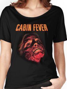 Cabin Fever Skull Face Women's Relaxed Fit T-Shirt
