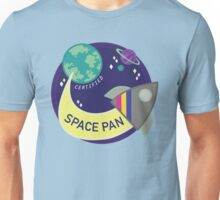 Certified Space Pan Unisex T-Shirt