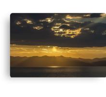 Light Show - Lake Tahoe Canvas Print