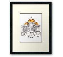 Ciudad de Mexico Framed Print