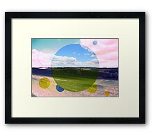 All About Italy. Tuscany Landscape 3 Framed Print