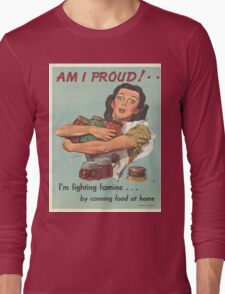 Vintage poster - Am I Proud? Long Sleeve T-Shirt