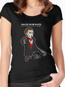 LuisMoreno.Net Promo Gear #1 Women's Fitted Scoop T-Shirt