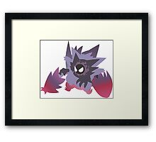 Pokemon - Gastly Evolutions Framed Print