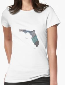 Florida Home Womens Fitted T-Shirt
