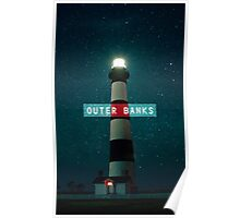 Bodie Island Light - Outer Banks. Poster