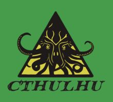 Warning Cthulhu hazard by GuitarManArts