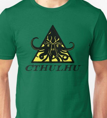 Warning Cthulhu hazard Unisex T-Shirt