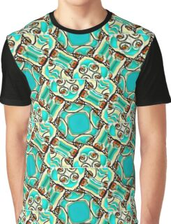 Abstract Digital  Graphic T-Shirt