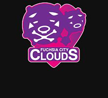Fuchsia City Clouds Unisex T-Shirt